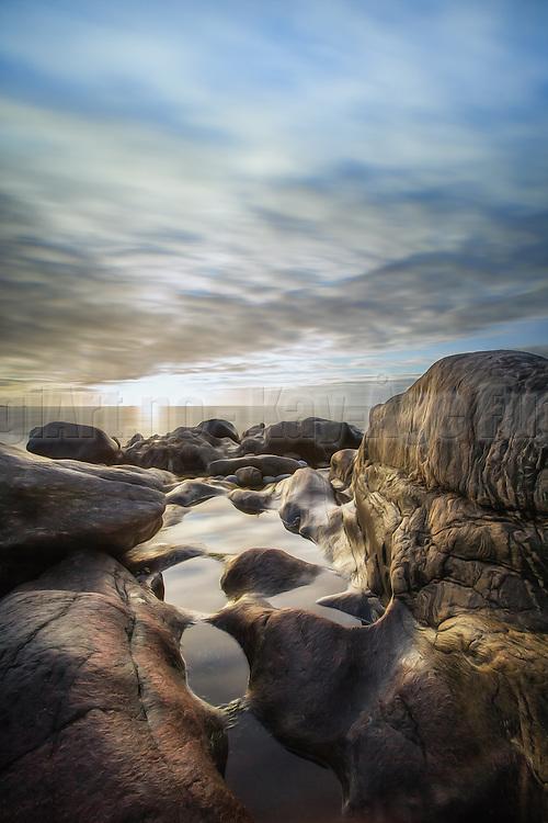 Golden moment at the shoreside in Norway | Gyllent øyeblikk i fjæra i Norge.