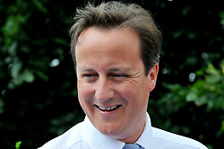 Portrait of the Leader of the Conservative Party David Cameron on a visit to Wigan, 2009. Photo By Andrew Parsons / i-Images.