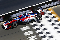 September 15, 2018 - Sonoma, California, United Stated - TONY KANAAN (14) of Brazil takes to the track to practice for the Indycar Grand Prix of Sonoma at Sonoma Raceway in Sonoma, California. (Credit Image: © Justin R. Noe Asp Inc/ASP via ZUMA Wire)