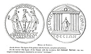Medal of Ephesus From the book ' The seven golden candlesticks ' by Tristram, H. B. (Henry Baker), 1822-1906 Published by The Religious tract society [London] in 1871