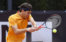 May 14, 2019 - Rome, Italy - Taylor Fritz (USA) during the ATP Internazionali d'Italia BNL first round match at Foro Italico in Rome, Italy on May 14, 2019. (Credit Image: © Matteo Ciambelli/NurPhoto via ZUMA Press)