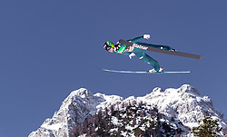 24.03.2019, Planica, Ratece, SLO, FIS Weltcup Ski Sprung, Skiflug, Einzelbewerb, Finale, im Bild Domen Prevc (SLO) // Domen Prevc of Slovenia during the individual competition of the Ski Flying World Cup Final 2019. Planica in Ratece, Slovenia on 2019/03/24. EXPA Pictures © 2019, PhotoCredit: EXPA/ JFK