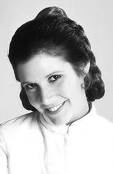 CARRIE FRANCES FISHER (October 21, 1956 Ð December 27, 2016) the actress best known as Star Wars' Princess Leia Organa, has died after suffering a heart attack. She was 60. Pictured: September 10, 1979 - London, United Kingdom, U.S. - Carrie Fisher as Princess Leia (Credit Image: © Lynn Goldsmith via ZUMA Press)