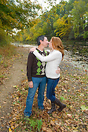 10/14/12 9:31:07 AM - Newtown, PA.. -- Amanda & Elliot October 14, 2012 in Newtown, Pennsylvania. -- (Photo by William Thomas Cain/Cain Images)