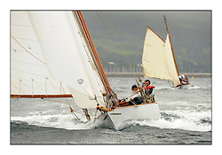 Day two of the Fife Regatta,Passage race to Rothesay.<br /> <br /> Fiona, Didier Cotton, FRA, Gaff Cutter, Wm Fife 3rd, 2005<br /> <br /> * The William Fife designed Yachts return to the birthplace of these historic yachts, the Scotland's pre-eminent yacht designer and builder for the 4th Fife Regatta on the Clyde 28th June–5th July 2013<br /> <br /> More information is available on the website: www.fiferegatta.com