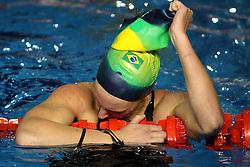 Manuella Lyrio, do Brasil durante a prova classificatória para a natação dos jogos Pan-Americanos de Guadalarrara 2011. FOTO: Jefferson Bernardes/Preview.com