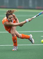 DEN HAAG - EVA DE GOEDE. Nederland speelt oefenwedstrijd tegen USA in het Kyocera Stadion. COPYRIGHT KOEN SUYK