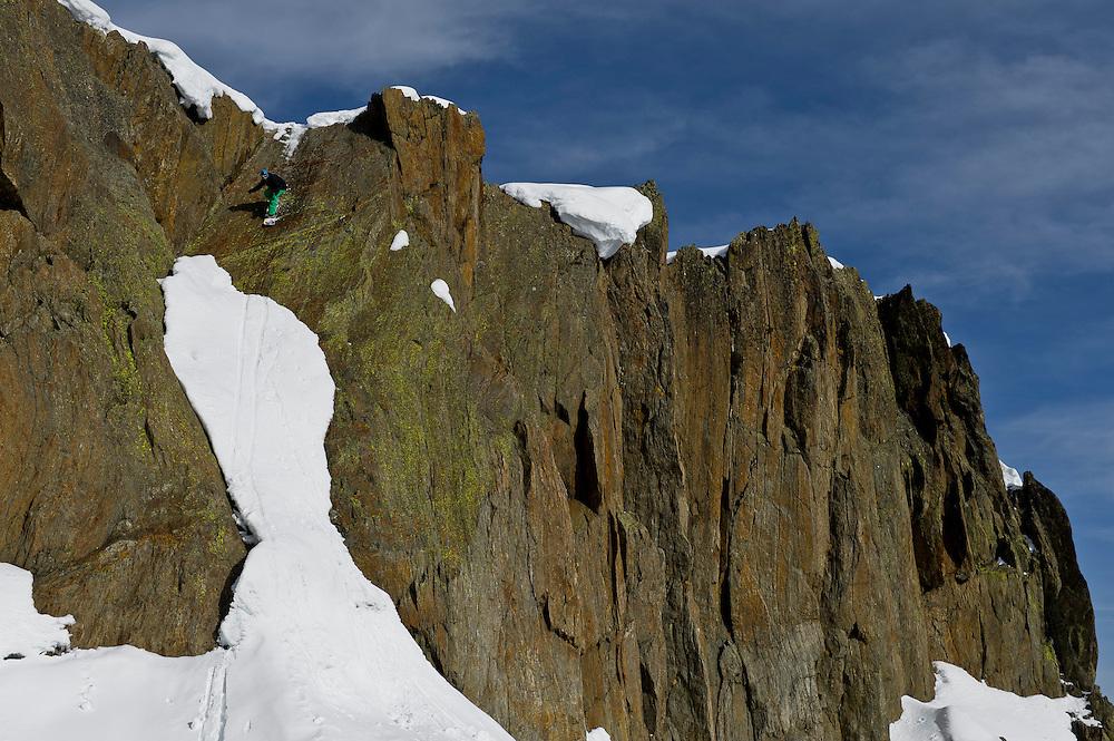Johno Verity, Chamonix, France.