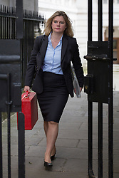 © licensed to London News Pictures. London, UK 26/06/2013. Justine Greening, Secretary of State for International Development attending cabinet meeting in Downing Street on Wednesday, 26 June 2013. Photo credit: Tolga Akmen/LNP