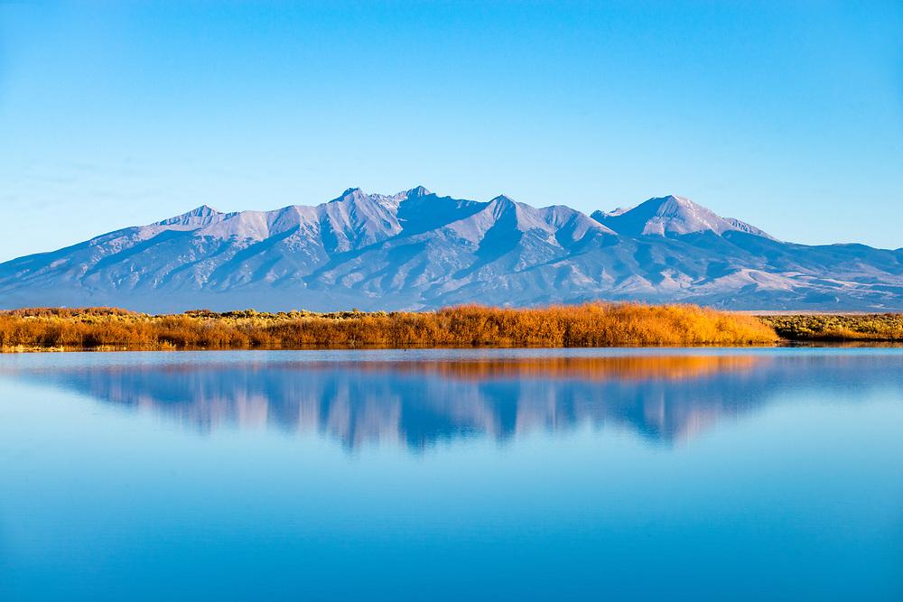 San Luis Valley Colorado Reservoir