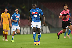 October 28, 2018 - Naples, Naples, Italy - Kalidou Koulibaly of SSC Napoli during the Serie A TIM match between SSC Napoli and AS Roma at Stadio San Paolo Naples Italy on 28 October 2018. (Credit Image: © Franco Romano/NurPhoto via ZUMA Press)