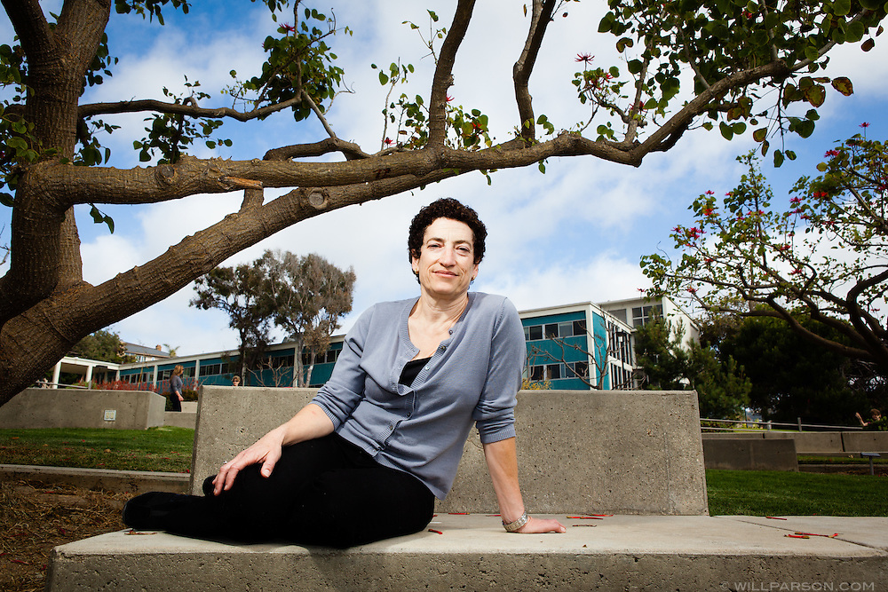 Naomi Oreskes is pictured at the Scripps Institution of Oceanography in La Jolla, California.