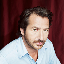 PARIS, FRANCE. SEPTEMBER 12, 2012. French comedian Edouard Baer at home in Paris. Photo: Antoine Doyen