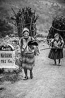 Ethnic minorities of the mountainous province of Ha Giang, Vietnam.