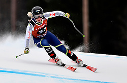 10.03.2017, Are, SWE, FIS Ski Alpin Junioren WM, Are 2017, Alpine Kombination, Damen, im Bild Fanny Axelsson, 30 efter första åket // during ladie's Alpine combined of the FIS Junior World Ski Championships 2017. Are, Sweden on 2017/03/10. EXPA Pictures © 2017, PhotoCredit: EXPA/ Nisse<br /> <br /> *****ATTENTION - OUT of SWE*****