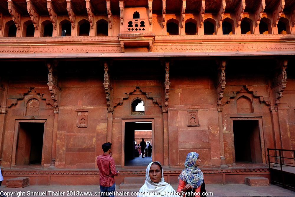 Agra Fort<br /> Agra, India<br /> Photo by Shmuel Thaler <br /> shmuel_thaler@yahoo.com www.shmuelthaler.com