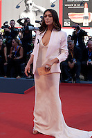 Valentina Lodovini at the opening ceremony and premiere of the film La La Land at the 73rd Venice Film Festival, Sala Grande on Wednesday August 31st, 2016, Venice Lido, Italy.