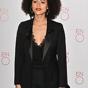 Nathalie Emmanuel Arrivals at La Bohème VIP Performance on 29 January 2019 at London Coliseum, London, UK.