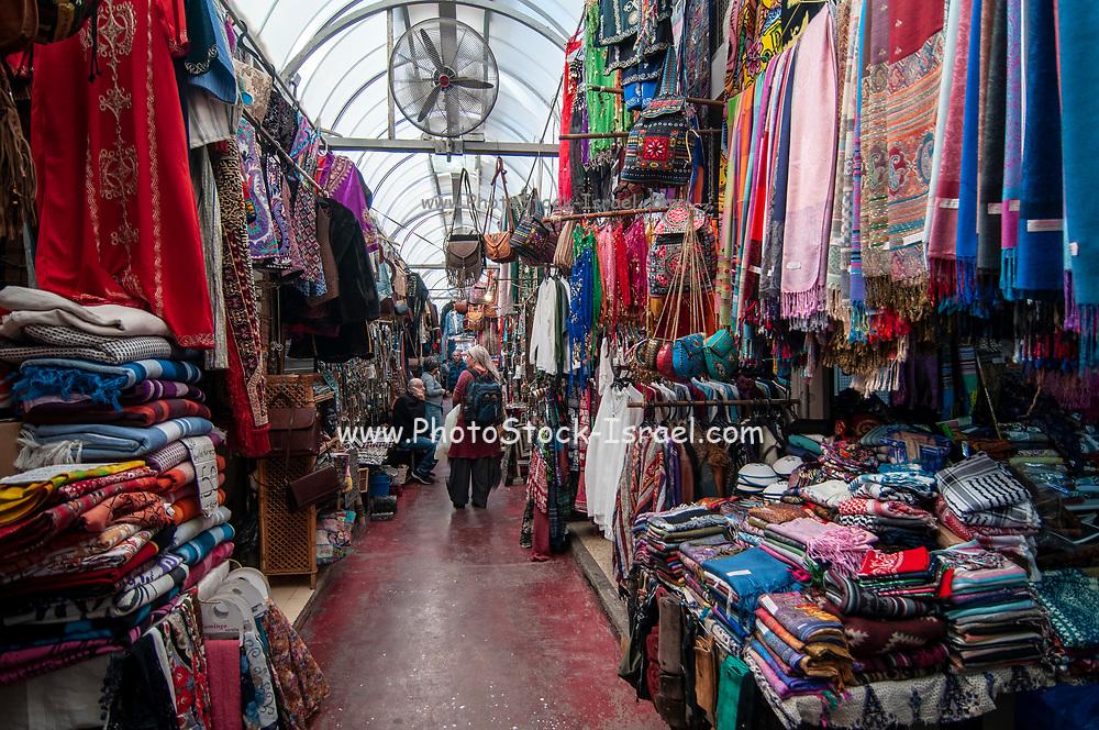 The Flea Market in the alleys of Jaffa, Tel Aviv, Israel