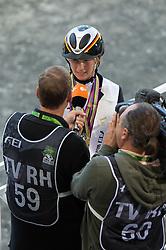 Sandra Auffarth <br /> World champion in Eventing - Alltech FEI World Equestrian Gamesô 2014 - Normandy, France.<br /> © Hippo Foto Team - Jon Stroud<br /> 31-08-14