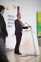 DEU, Deutschland, Germany, Berlin, 18.05.2021: FDP-Partei- und Fraktionschef Christian Lindner bei einem Pressestatement vor der Fraktionssitzung der FDP im Deutschen Bundestag.