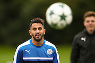 Leicester City Training 260916