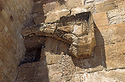 The Huldah Gates were gates leading into the Jerusalem Temple compound in the Hasmonean period and were named as such in the Mishnah. Jerusalem Old City, Israel