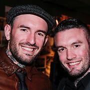 NLD/Amsterdam/20130311 - Presentatie 1e editie Grazia MAN, Ben Saunders en broer jamie Saunders