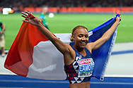 Renelle Lamote (FRA) win the Silver Medal in 800m Women during the European Championships 2018, at Olympic Stadium in Berlin, Germany, Day 4, on August 10, 2018 - Photo Photo Julien Crosnier / KMSP / ProSportsImages / DPPI