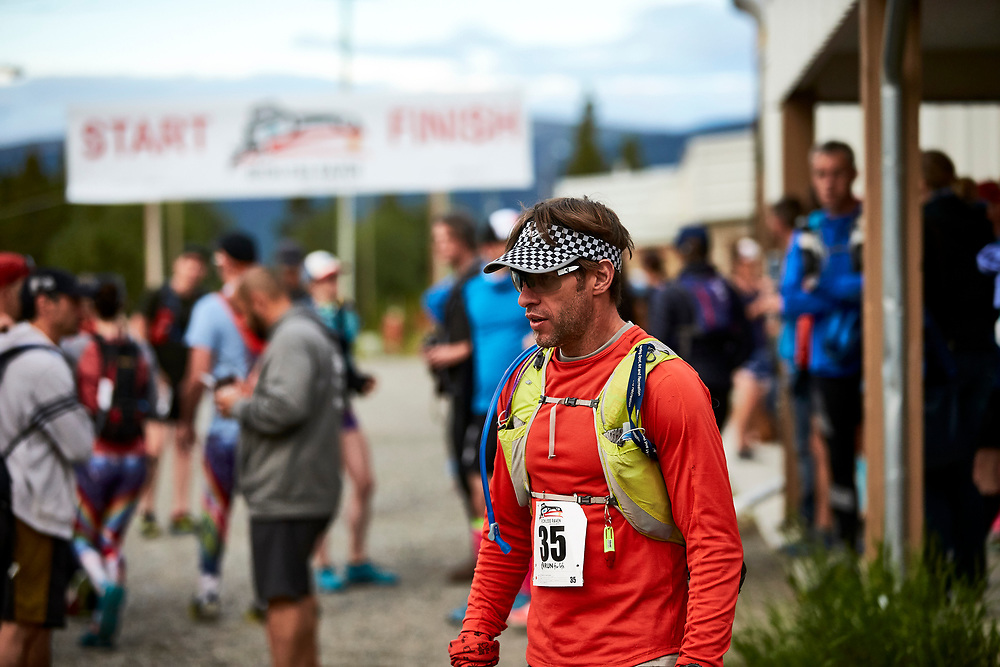 The Reckless Raven 50 Mile Ultra and Relay started at 6am at Mr McIntyre in Whitehorse, Yukon. Solo and two-person relay teams navigated the 50 mile course, crossing McIntyre Creek early on, ascending Haeckel Hill, crossed Sumanik Ridge, descended to Jackson Lake for the relay hand-off, scaled Knuckle Ridge, got in a little mountain biking (with no bike) on Starbucks Revenge and Blown Away, finally ending back at Mt McIntyre recreation centre.