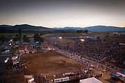 during that Bull Thing in Eureka, Montana, August 26, 2017. Todd Korol/The Globe and Mail