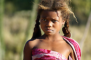 Madagascar, A young Madagascan girl