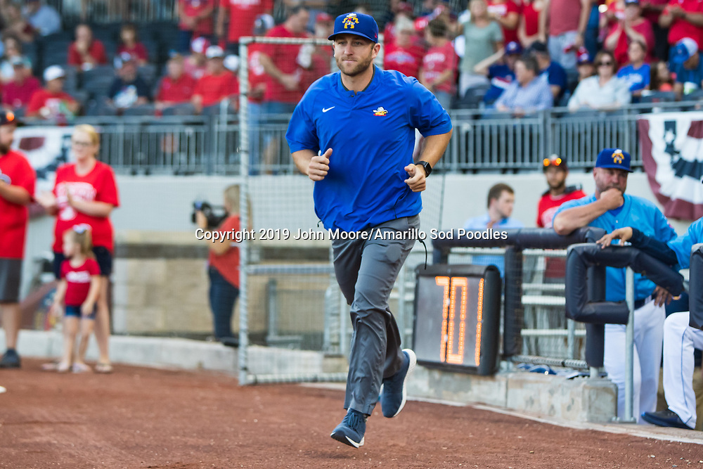 The Amarillo Sod Poodles played against the Tulsa Drillers during the Texas League Championship on Tuesday, Sept. 10, 2019, at HODGETOWN in Amarillo, Texas. [Photo by John Moore/Amarillo Sod Poodles]