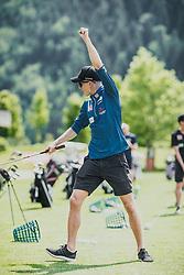 05.06.2019, Golfclub Zillertal, Uderns, AUT, Skijumpers Golf Trophy, im Bild Halvor Egner Granerud (NOR) // during the Skijumpers Golf Trophy at the Golfclub Zillertal, Uderns, Austria on 2019/06/05. EXPA Pictures © 2019, PhotoCredit: EXPA/Stefanie Oberhauser