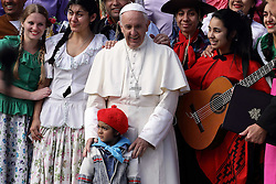 October 19, 2016 - Vatican City State (Holy See) - POPE FRANCIS during his wednesday general audience in St. Peter's Square. (Credit Image: © Evandro Inetti via ZUMA Wire)