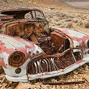 Abandoned 1947 Buick Roadmaster - Eureka Mine - Death Valley, CA