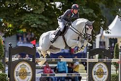 NIELSEN Denis (GER), DSP Cashmoaker<br /> Paderborn - OWL Challenge 5. Etappe BEMER Riders Tour 2019<br /> Finale Mittlere Tour (CSI3*/CSIU25-EY Cup) <br /> Wertung zum European Youngster Cup<br /> Springprüfung mit Stechen<br /> Prüfung zählt für das Longines Ranking <br /> 15. September 2019<br /> © www.sportfotos-lafrentz.de/Stefan Lafrentz