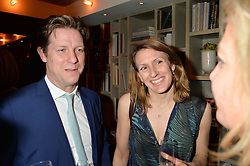 FRASER & LINDA NELSON at the 3rd birthday party for Spectator Life magazine hosted by Andrew Neil and Olivia Cole held at the Belgraves Hotel, 20 Chesham Place, London on 31st March 2015.