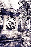 Graves at Père Lachaise Cemetery, Paris, France