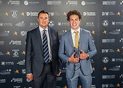 Scottish Border of Chamber Border Busines awards, 2017, held at Springwood Hall.<br /> <br /> 'Micro Business of the Year' winner Danny's A7 Car Wash, based in Galashiels. Sponsored by Business Gateway