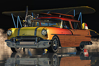 This high quality, limited production stainless steel car that has been excellently restored is the latest in a long line of luxurious Pontiac Safari Station Wagon Surfer Edition models. This second-generation vehicle features all the desirable luxury attributes such as premium materials, precision craftsmanship, hard-wearing components, and classic styling. It also fortifies a two-year limited warranty from Buick, the legendary American automobile maker.<br /> <br /> This unique two-door station wagon is one of just twenty-two built for the year 1956. It is powered by a Pontiac engine that is believed to be the very first V-8 ever put into a production car. It is also powered by two Studebaker carburetors that produce just over seventy horsepower. The car seats eight comfortably, including a special leather interior that is embossed with the Buick logo.<br /> <br /> The interior of this stylishly redesigned automobile is completely leather - no cloth or vinyl covering found. For its side skirts and front bumper, the Buick Company used a four-valve, dual-rotor air induction that has been well shielded from fuel lines by the presence of two large fans at the front and rear of the engine compartment. The Buick station wagon also benefits from a Buick accessory key that locks the doors and opens the trunk, as well. For safety, a Buick steering wheel lock completes the package.