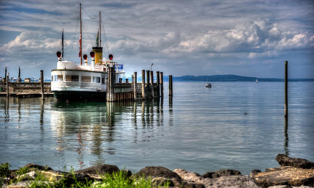 Steam ship - Lake Constance