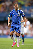 Eden Hazard of Chelsea looking on. Barclays Premier League, Chelsea v Crystal Palace at Stamford Bridge in London on Saturday 29th August 2015.<br /> pic by John Patrick Fletcher, Andrew Orchard sports photography.