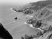9969-2594. Coast north of Otter Crest. July 19, 1936.