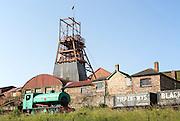 Big Pit National Coal Museum, Blaenavon, Torfaen, Monmouthshire, South Wales, UK