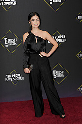 Lucy Hale at the 2019 E! People's Choice Awards held at the Barker Hangar in Santa Monica, USA on November 10, 2019.