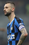 Marcelo Brozovic of Inter during the Serie A match at Giuseppe Meazza, Milan. Picture date: 9th February 2020. Picture credit should read: Jonathan Moscrop/Sportimage