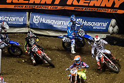 November 23, 2018 - Lyon, France - 16th edition of the Lyon Supercross during the SX Tour at the Palais des Sport de Gerland, in Lyon, France, on November 23rd, 2018. (Credit Image: © Nicolas Liponne/NurPhoto via ZUMA Press)