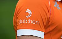 BLOEMENDAAL -  Sponsor Dutchen.   Heren I, seizoen 217-2018. COPYRIGHT KOEN SUYK