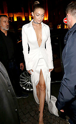 Hailey Baldwin, Courtney Love and Amber Valetta are among the celebrity sightings in Paris this week. 27 Sep 2017 Pictured: GiGi Hadid. Photo credit: MEGA TheMegaAgency.com +1 888 505 6342